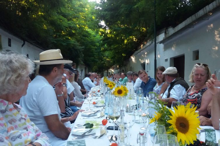Dining in Poysdorf