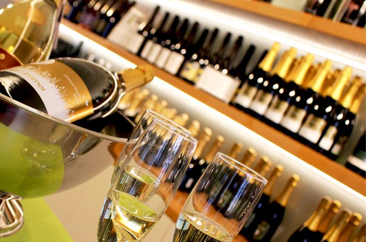 sparkling city of wine
